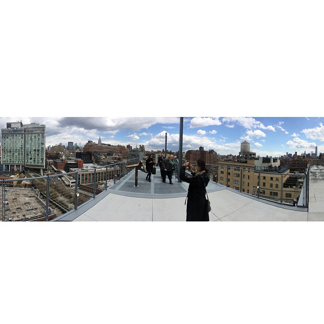 View from the Top of the NEW Whitney Museum. //