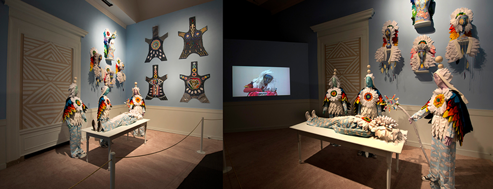 Utopia Conjuring Chamber, Institute of Empathy, Greene County, NY, circa 2012; 2012; mixed media installation; Installation shot Montclair Art Museum, 2 min 30 sec.; Videographer: Rachel Lears.
