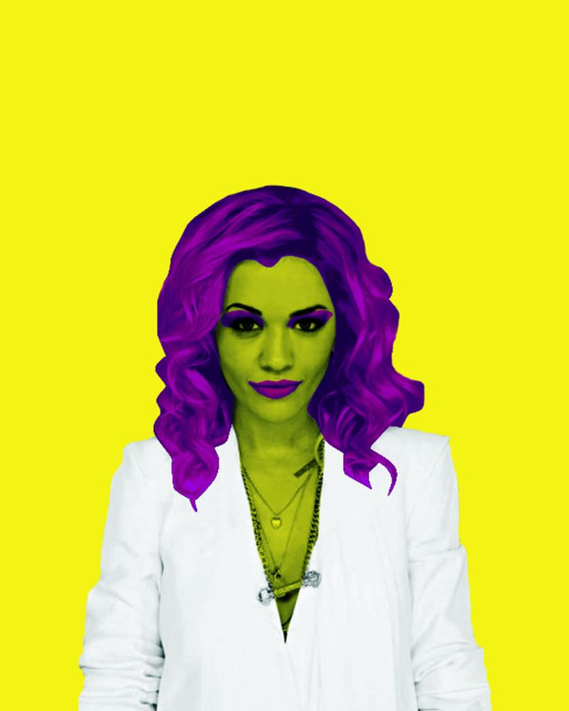 Rita Ora by Vince Smith