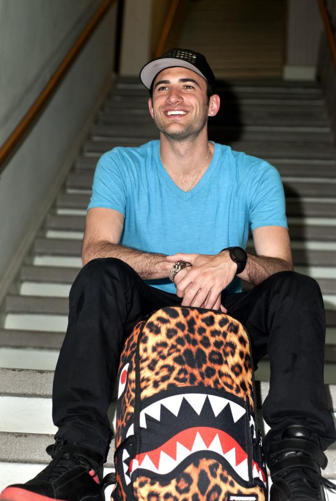David Ben-David of Sprayground by Matthew Shrier