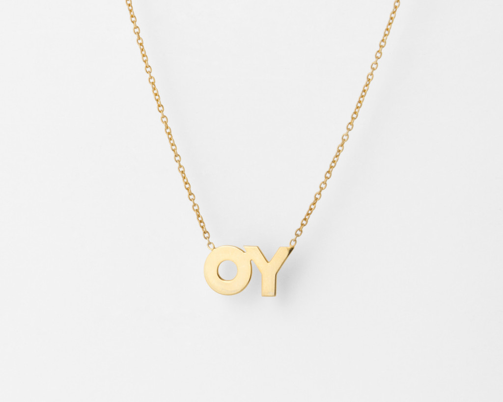 Deborah Kass OY/YO Necklace