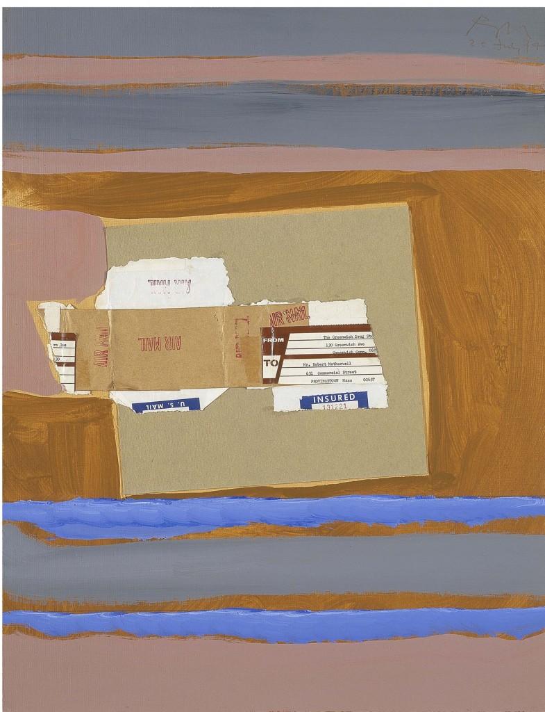 Robert Motherwell The Art of Collage Paul Kasmin Gallery
