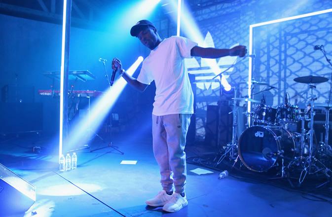 Isaiah Rashad - adidas The Last Encore @ Poodle Parlor LA