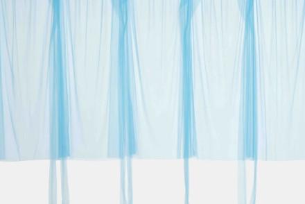 "Beverly Semmes, ""Blue Curtain,"" 2017"