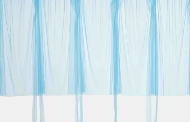 "Beverly Semmes, ""Blue Curtain,"" 2017"