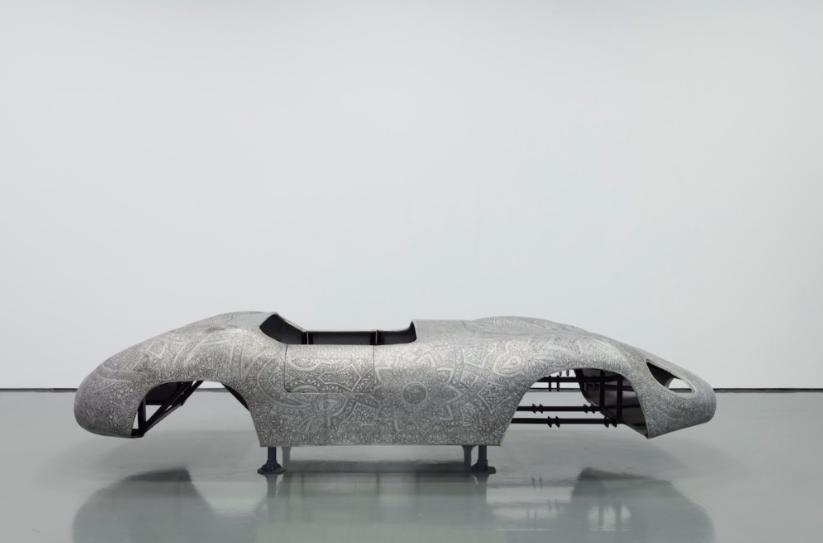 """Wim Delvoye """"Maserati"""" @ Perrotin New York"""