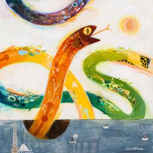 """Souther Salazar """"Awakening"""" @ Heron Arts"""