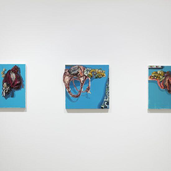 Herman Aguirre. Tejido, Installation view, Steve Turner 2019