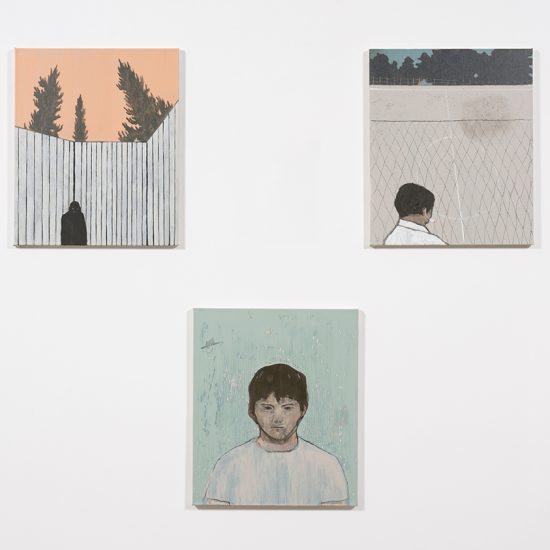 Francisco Rodriguez. Midday Demon, Installation view, Steve Turner, 2019