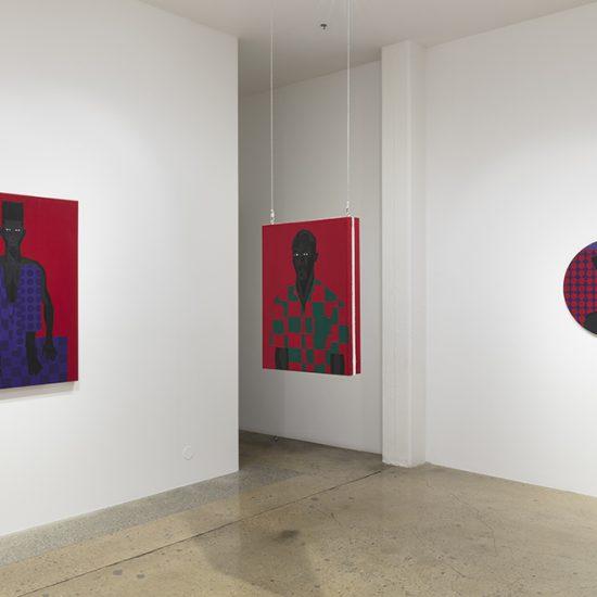 Jon Key. Violet Alabama, Installation view, Steve Turner, 2019