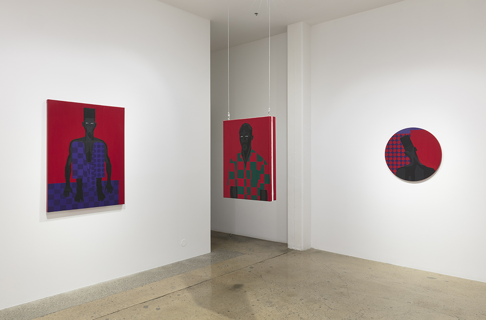 Jon Key. Violet Alabama, Installation view, Steve Turner, 2019